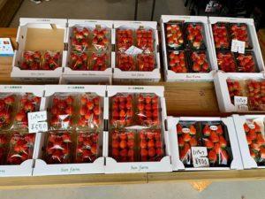 お手頃価格でまるっと新鮮ないちごが並ぶ生産者直売所「井上イチゴ農園 ~Sun farm~」
