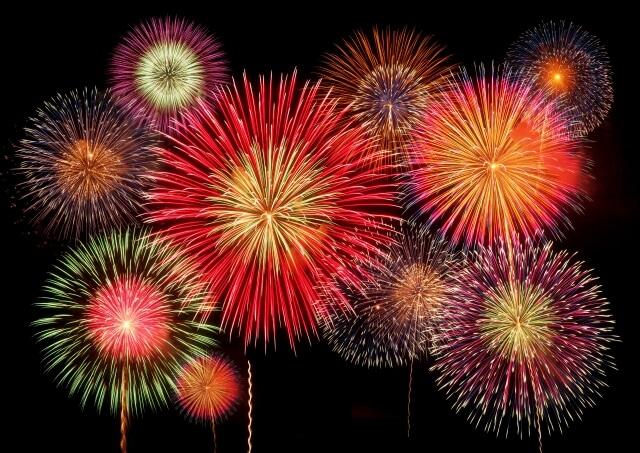 【強風のため延期】古賀市で打ち上げ花火「今夜19時30分から」ライブ配信でも楽しめる!