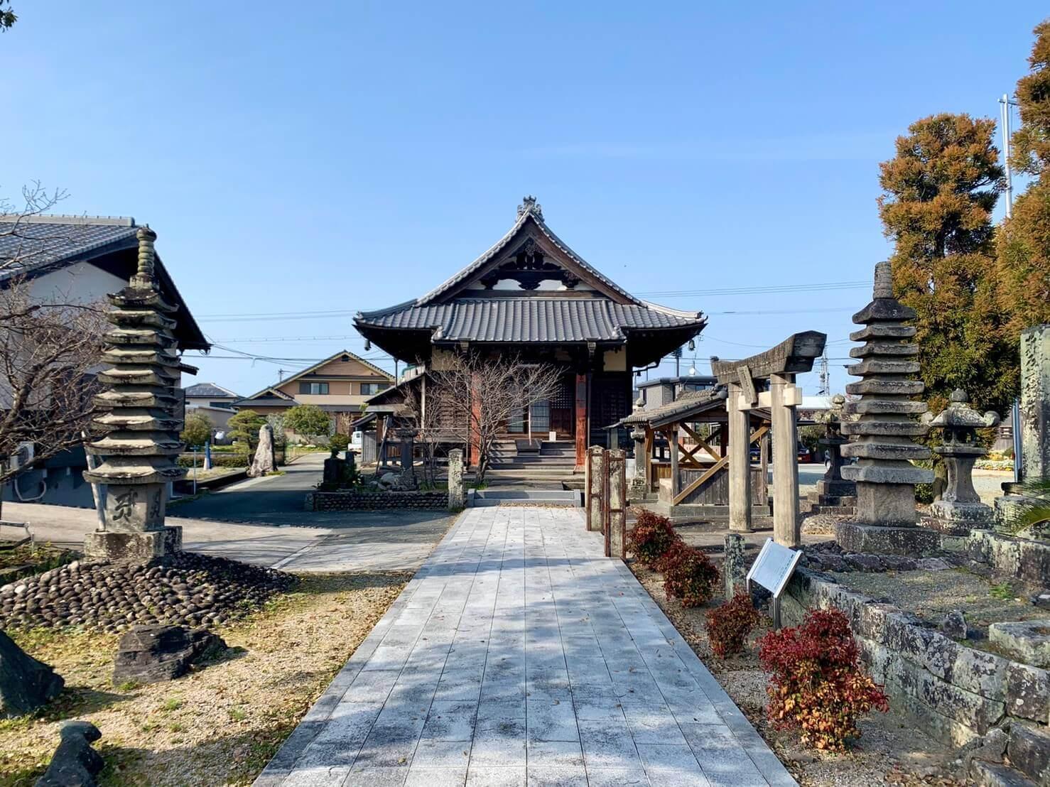 叡興山 光明寺【筑後市】1200年以上の歴史ある寺院