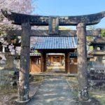 玉垂命神社【筑後市】春は桜の花見スポット、秋はイチョウの紅葉スポット