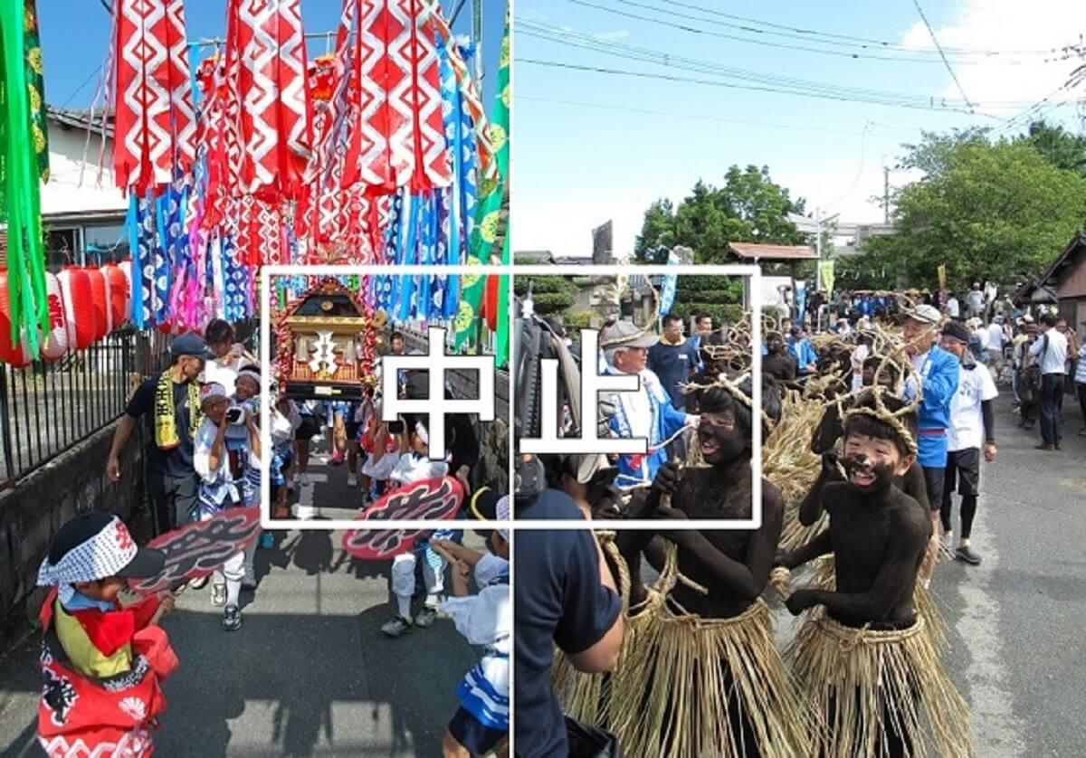 【筑後市】今年の久富盆綱曳と赤坂七夕夏祭りが中止へ