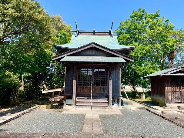 井上玉垂神社【筑後市】井田地区に2社ある玉垂命神社の1社