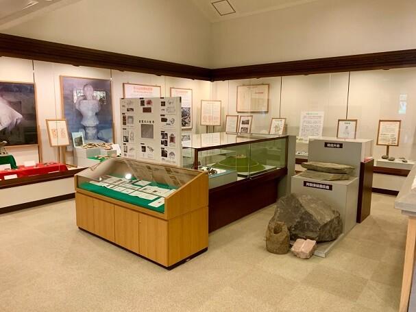 『こふんピア広川』多種の出土品が展示されてる広川町古墳公園資料館