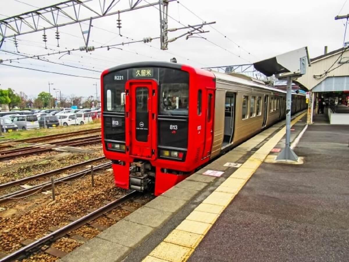 大雨によりJR鹿児島本線が運転見合わせ 西鉄もダイヤ乱れなど