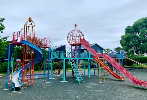 水田公園【筑後市】水田天満宮・恋木神社そばの自然豊かな遊び場
