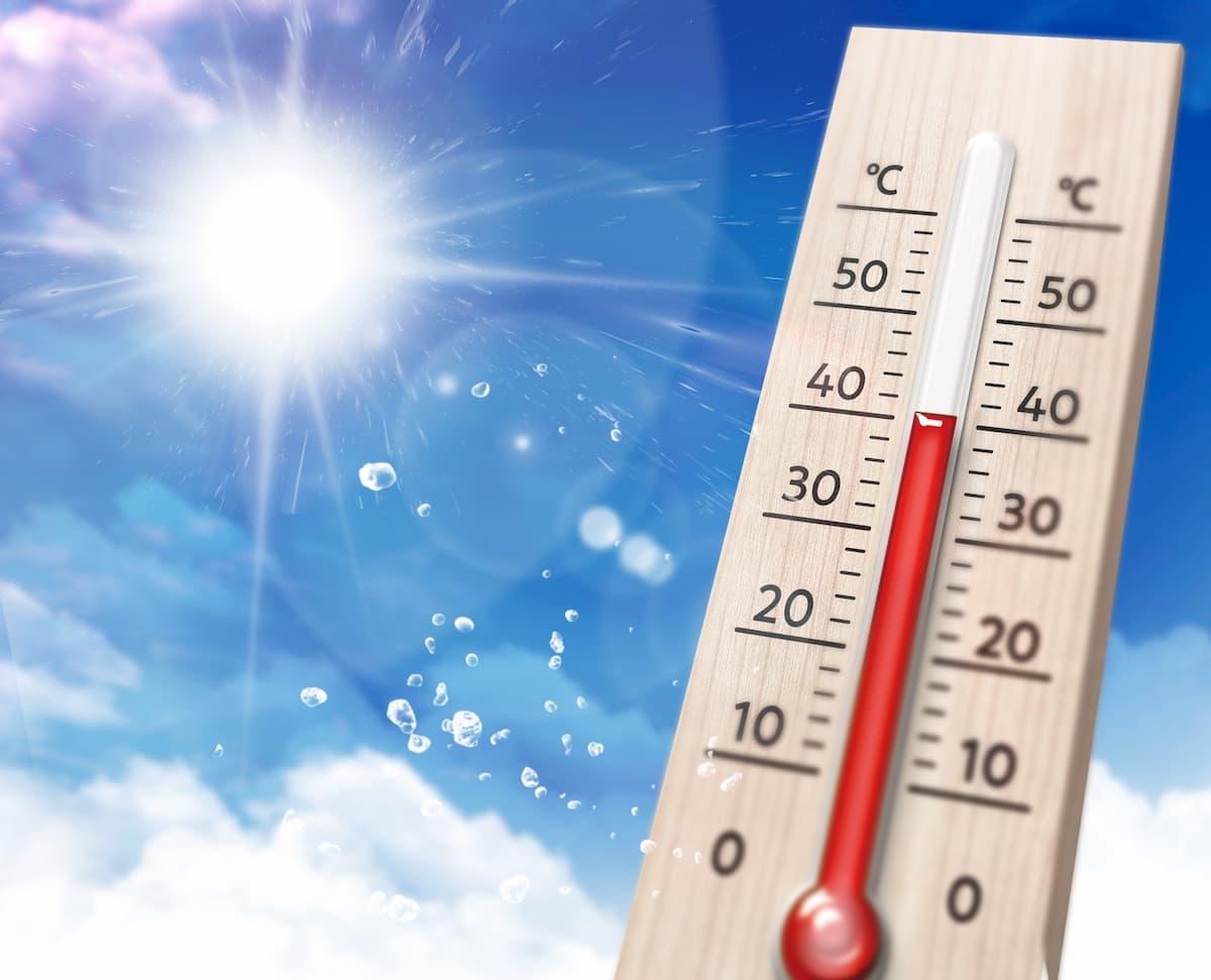 久留米市で32.4度を観測 全国で一番の暑さに