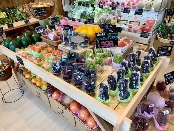 ベジテラス【久留米市】朝倉や太刀洗の新鮮野菜が並ぶおしゃれな八百屋さん