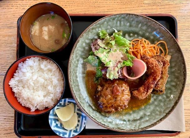 ロワール【筑後市】特製デミソースを堪能できるカフェ&レストラン