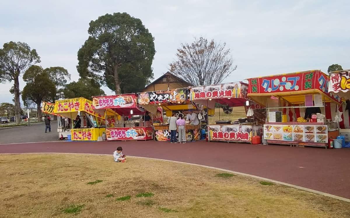秋の屋台フェスティバル in 六角堂広場  屋台グルメでお祭り気分を味わえるイベント開催【久留米】