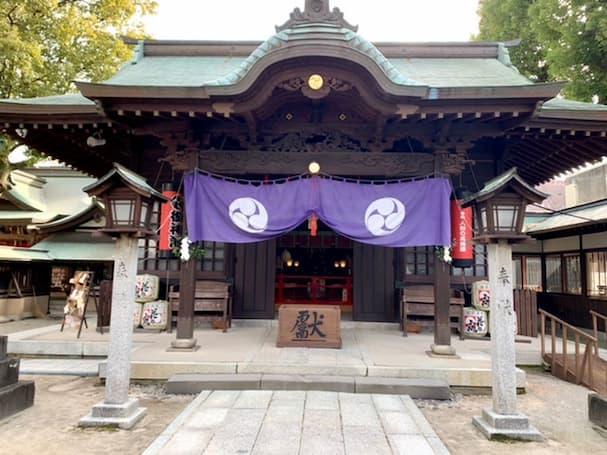 「久留米宗社 日吉神社」久留米の大神様に参拝、色んなご利益と限定御朱印が魅力