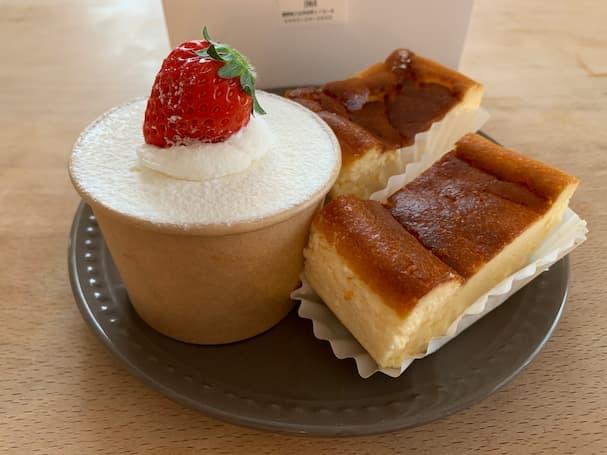「IMA(イマ)」の麹チーズケーキがしっとり美味しいんだけど!【八女市】
