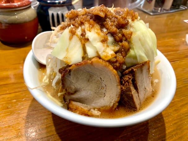 「龍の家 久留米インター店」のまるで二郎系な『豪快とんこつ』を食べてみた【久留米市】