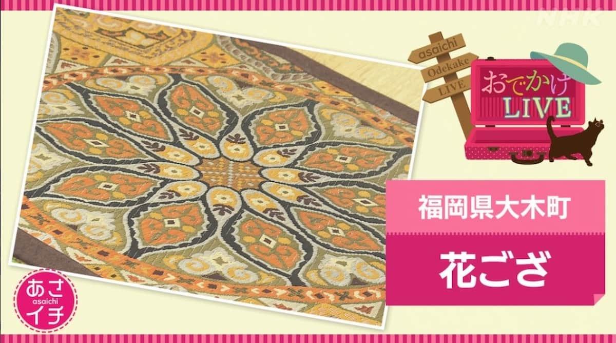 NHK「あさイチ」で柳川の花ござ職人がとりあげられるみたい。6月28日放送