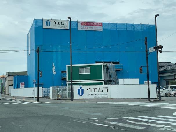 船小屋セブンの近くに新しく賃貸マンションが建ちよる【筑後市】